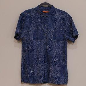 Tory Richard Blue/White short-sleeve shirt